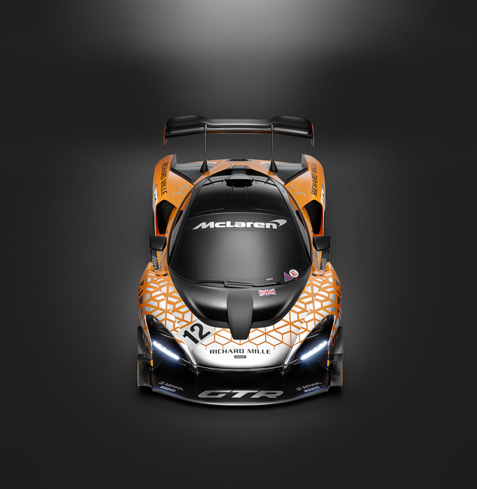 Mclaren Senna GTR Photos