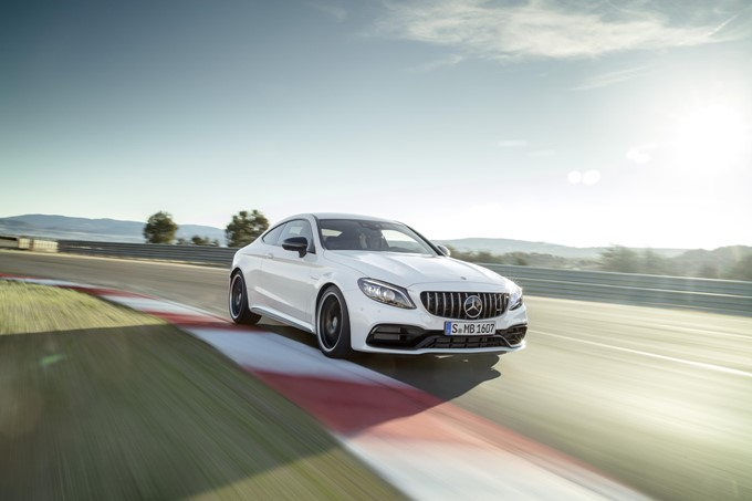 Mercedes-AMG C 63 Coupe Photos