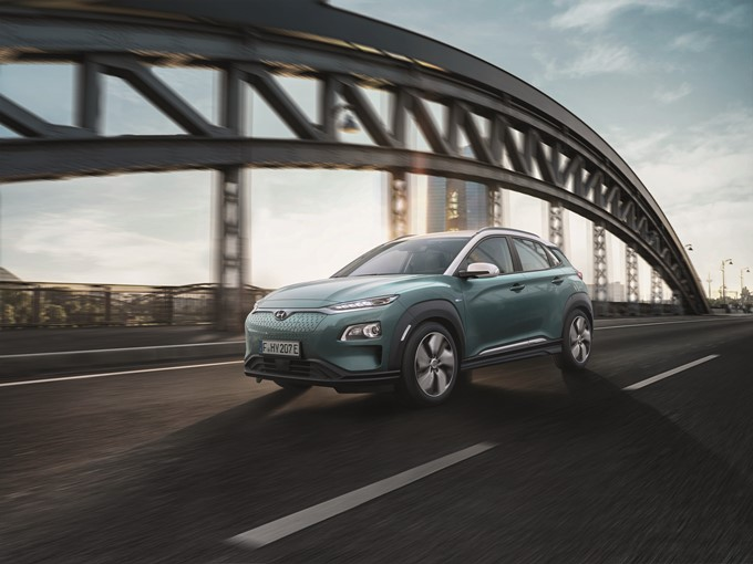 Hyundai Kona Electric Photos