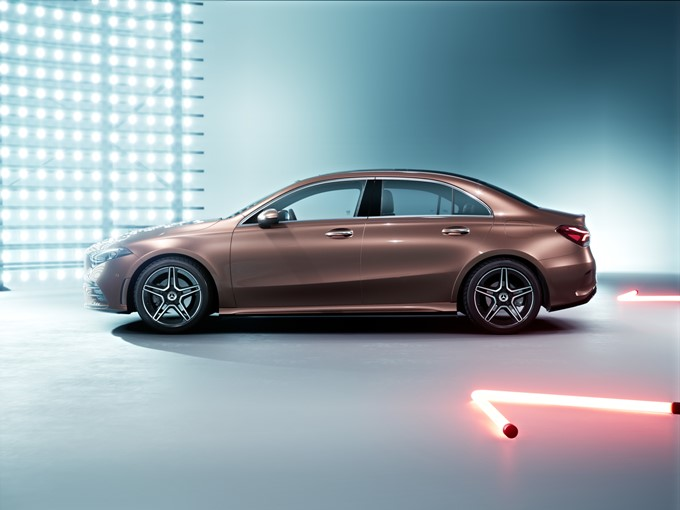 Mercedes-Benz A-Class L Sedan Photos