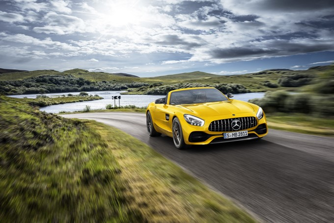 Mercedes-AMG GT S Roadster Photos