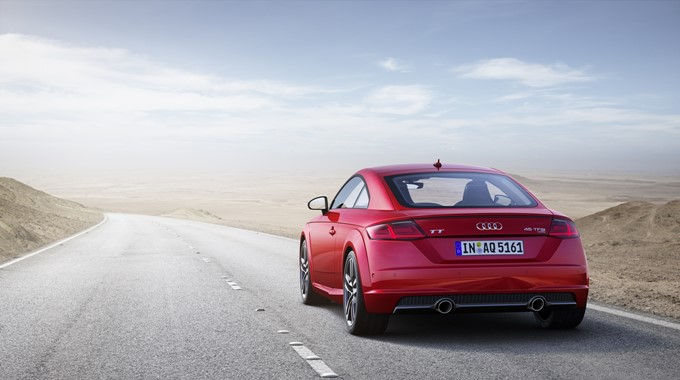 2018 Audi TT Coupe Photos