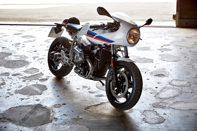 BMW R nine T Racer Images