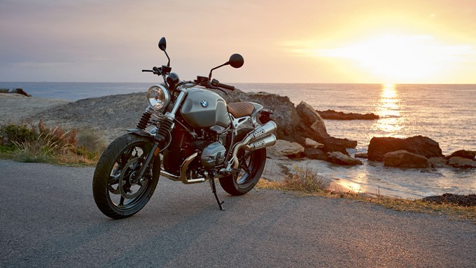 BMW R nine T Scrambler Images
