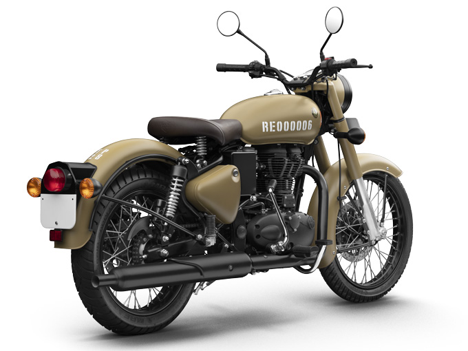 Royal Enfield Classic 350 Signals Edition Images Photo Gallery Of