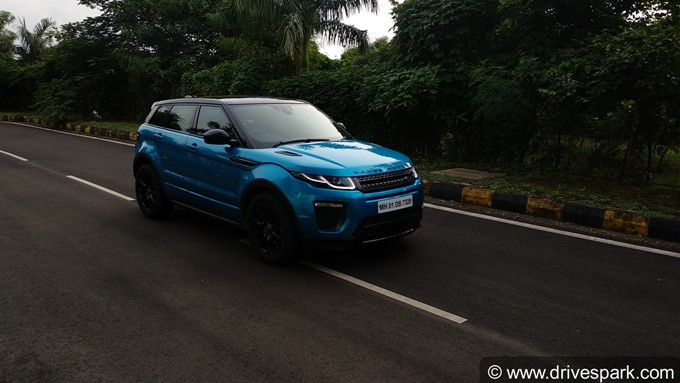 Range Rover Evoque Landmark Special Edition Photos