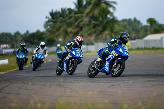 Suzuki Gixxer Cup Media Endurance Race Images