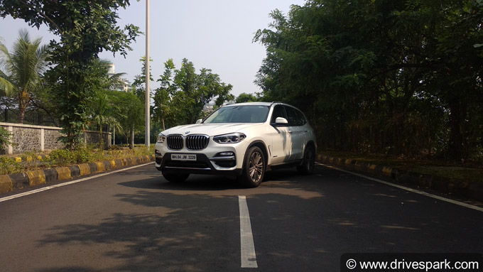 2018 BMW X3 Photos