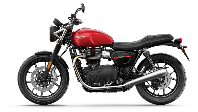 2019 Triumph Street Twin Photos