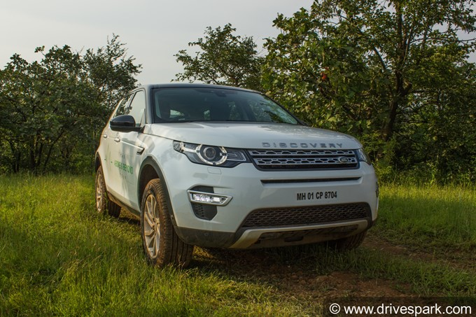 Land Rover Off-Road Experience Photos