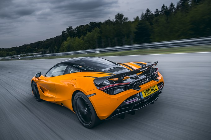 McLaren 720S Track Pack Photos