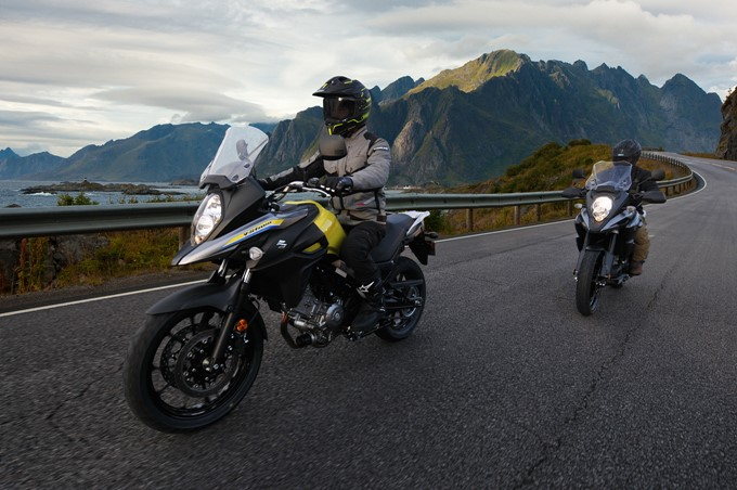 Suzuki V-Strom 650XT ABS Photos
