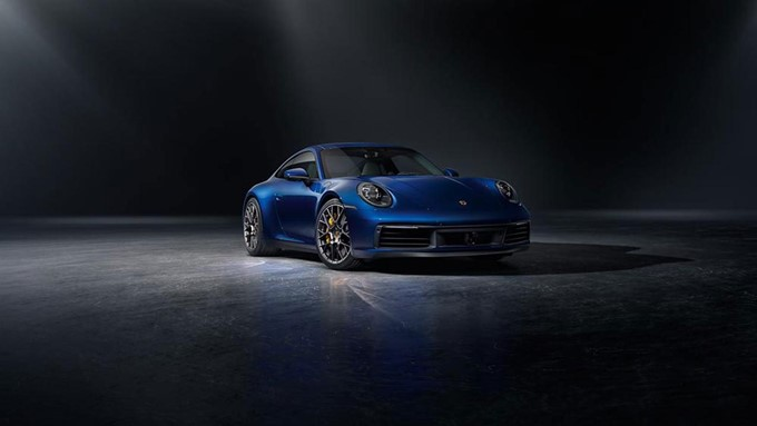 2019 Porsche 911 Carrera 4S Photos