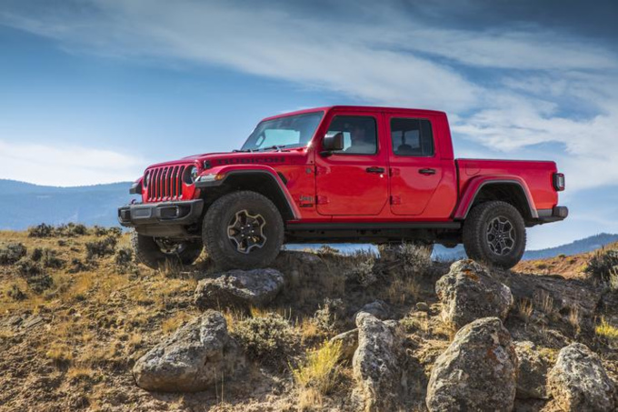 2020 Jeep Gladiator Images