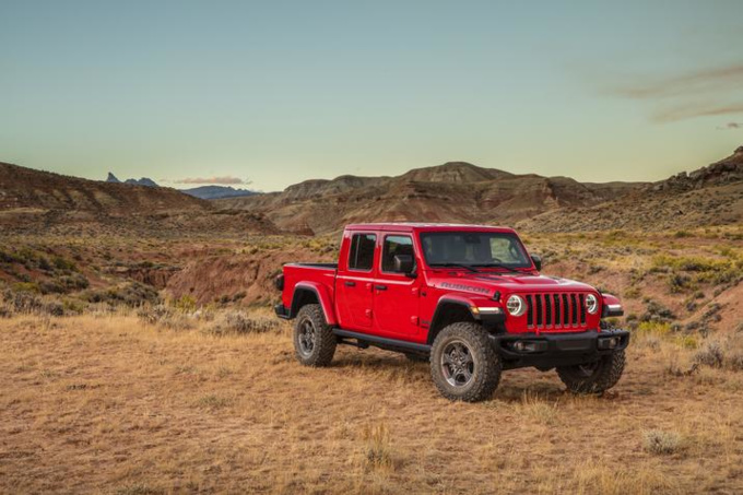 2020 Jeep Gladiator Photos