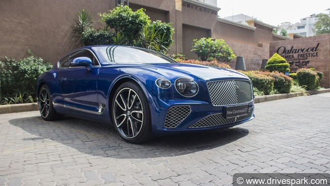 Bentley Continental GT - Bangalore Display Images