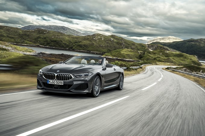 BMW 8 Series Convertible Photos