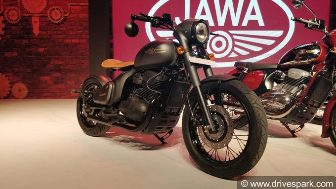 New Jawa Motorcycles Photos