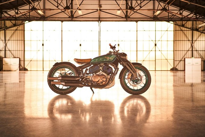 Royal Enfield KX Bobber Concept Photos
