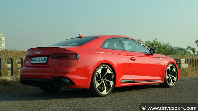 2018 Audi RS5 Coupe Photos
