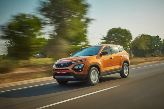 Tata Harrier Photos
