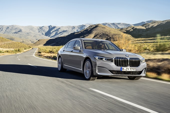 2019 BMW 7 Series Photos