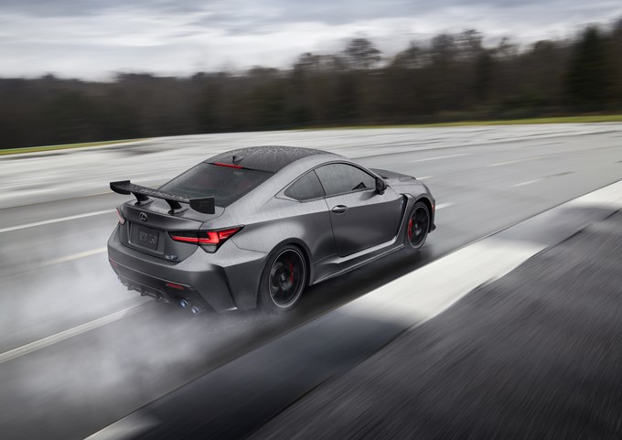 2019 Lexus RC F Track Edition Photos