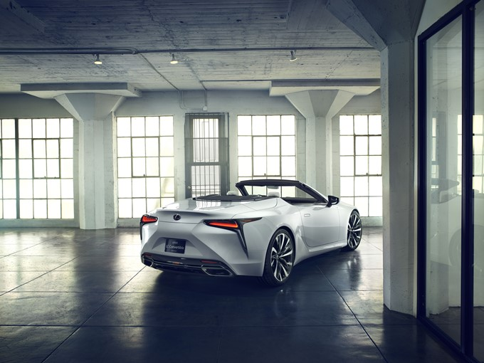 Lexus LC Convertible Concept Photos
