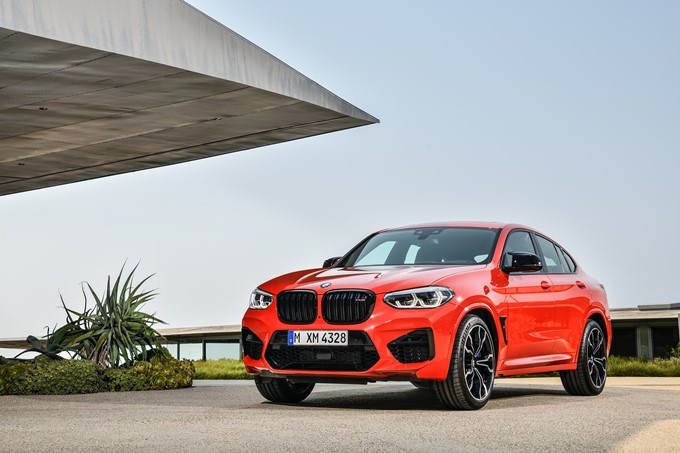 BMW X4 M Competition Photos
