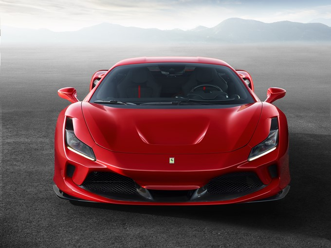 Ferrari F8 Tributo Photos
