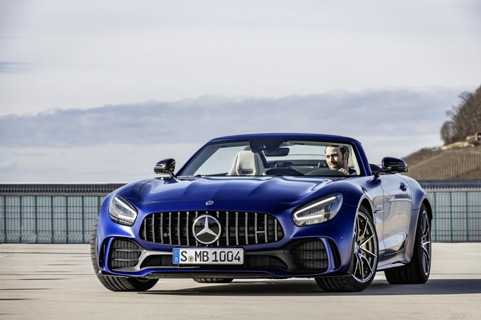 Mercedes-AMG GT R Roadster Photos