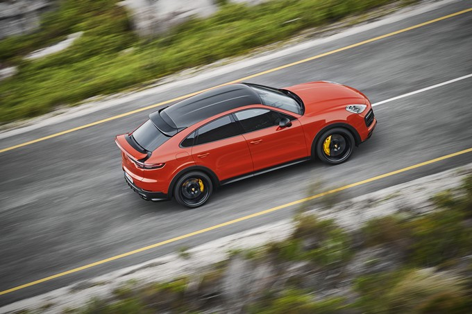 Porsche Cayenne Coupe Photos