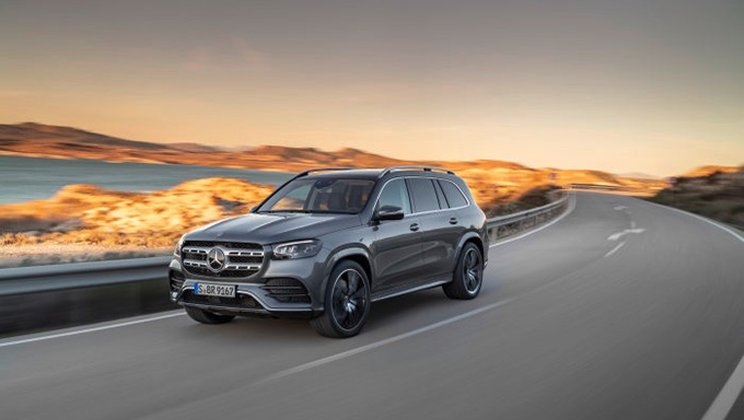 Mercedes-Benz GLS Photos