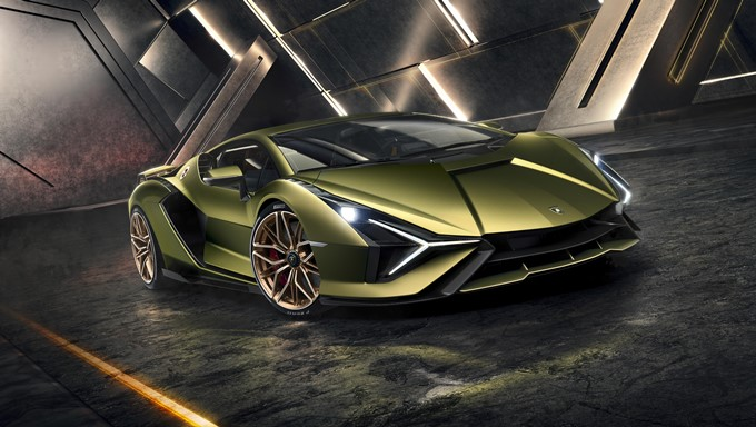 Lamborghini Sian Photos