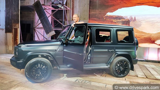 Mercedes-Benz G 350d Photos