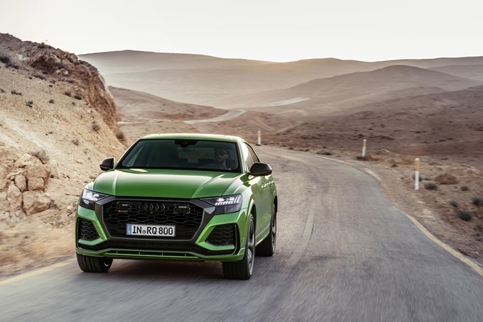 Audi RS Q8 Photos