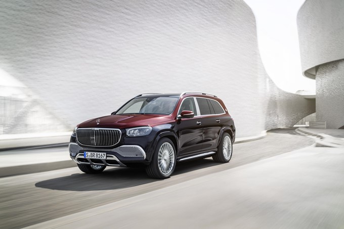 Mercedes-Maybach GLS 600 Photos