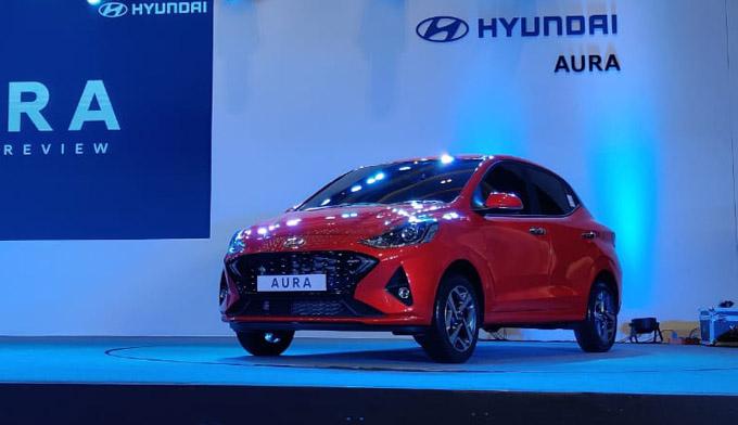 Hyundai Aura Photos