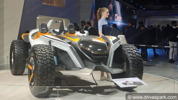Hyundai Kite Dune Buggy Concept Images