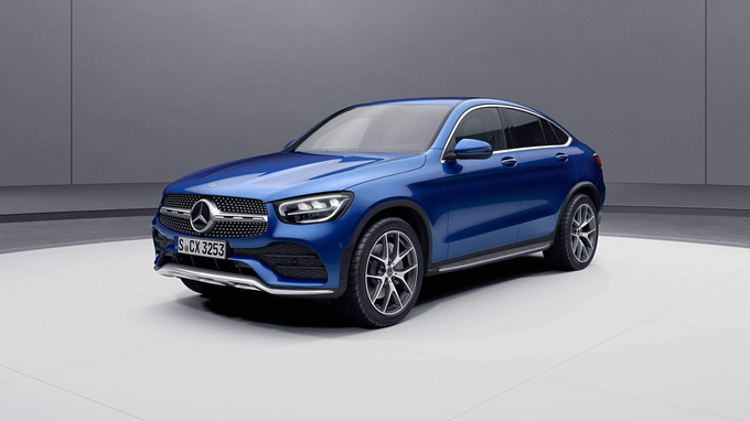 2020 Mercedes-Benz GLC Coupe Images