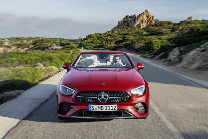 Mercedes-Benz E-Class Cabriolet Photos