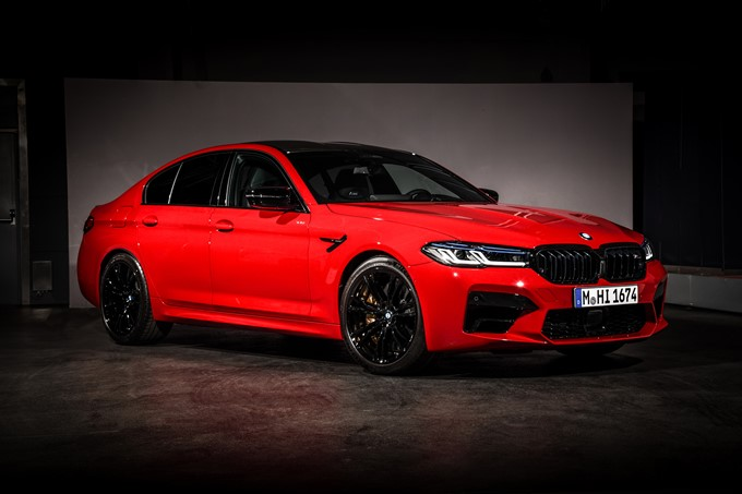 2021 BMW M5 Competition Photos