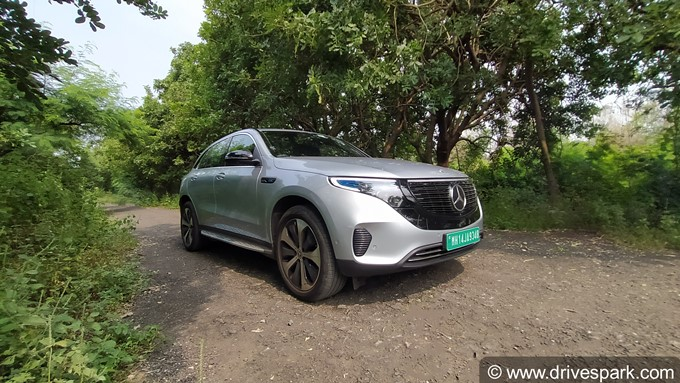Mercedes-Benz EQC Photos
