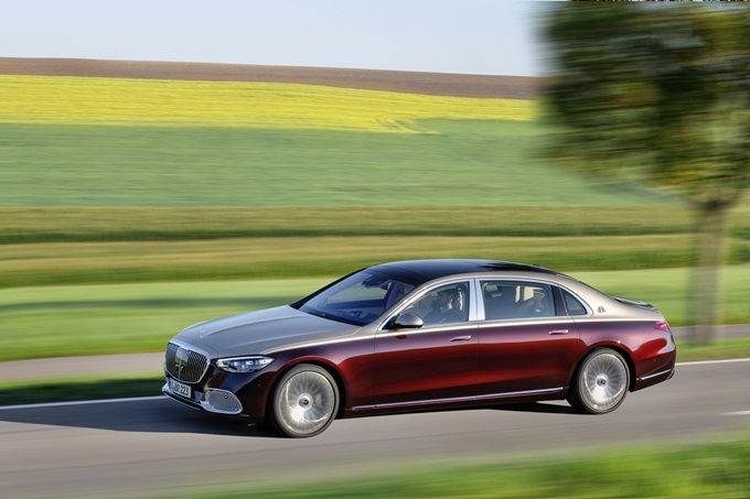 2021 Mercedes-Maybach S-Class Photos