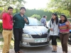 Skoda Car Rally To Promote Traffic Awareness