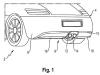 Porsche Active Rear Diffuser Patent