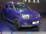 Maruti Displays Ignis Compact Crossover At Auto Expo