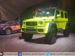 Madcap Mercedes G Wagon 4x4 Squared At Auto Expo