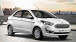 Ford Aspire CNG Launched In India — Prices Start At Rs 6.27 Lakh