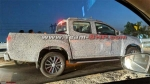 2019 Isuzu D-Max V-Cross Facelift Spied Testing — Launch Expected Soon